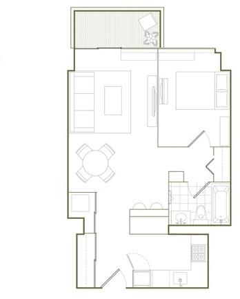 Top Tier Luxury Building on West 37th street with Private Terrace - Photo 5