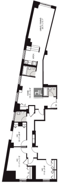 Studio, Financial District Rental in NYC for $6,295 - Photo 1