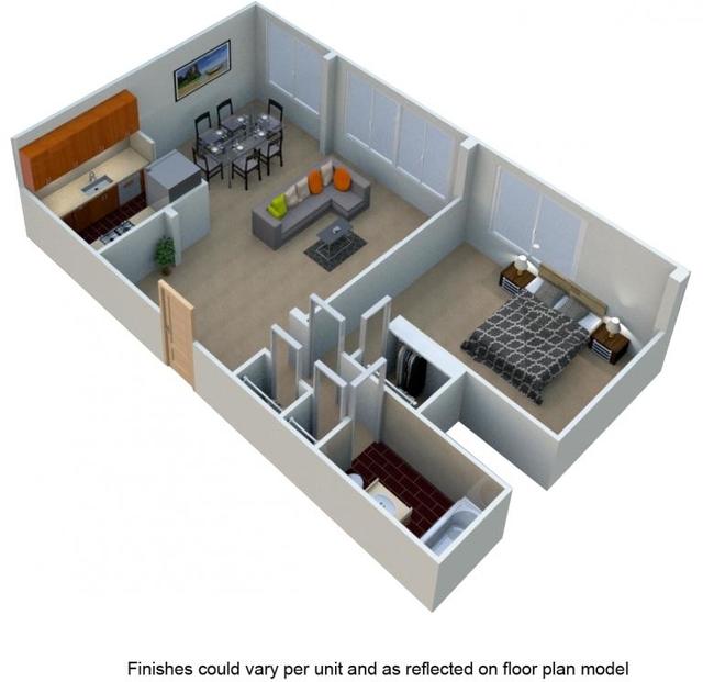 1 Bedroom, Silver Spring Rental in Washington, DC for $1,504 - Photo 2
