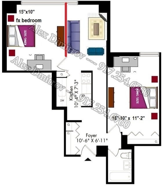 1 Bedroom, Kips Bay Rental in NYC for $3,195 - Photo 2