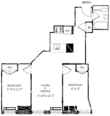 2 Bedrooms, Financial District Rental in NYC for $4,791 - Photo 1