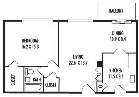 1 Bedroom, Silver Spring Rental in Washington, DC for $1,535 - Photo 2