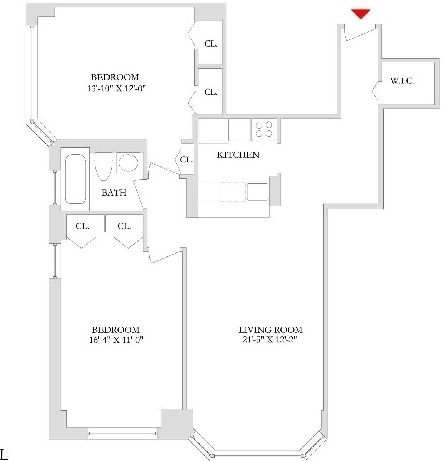 2 Bedrooms, Rose Hill Rental in NYC for $4,975 - Photo 2