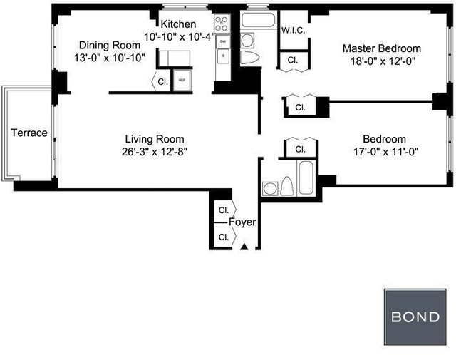 2 Bedrooms, Upper East Side Rental in NYC for $5,404 - Photo 2