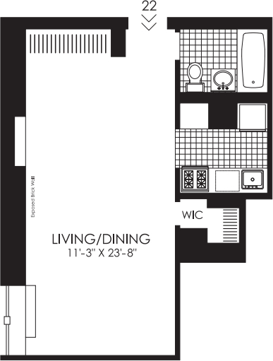 1 Bedroom, West Village Rental in NYC for $3,276 - Photo 2