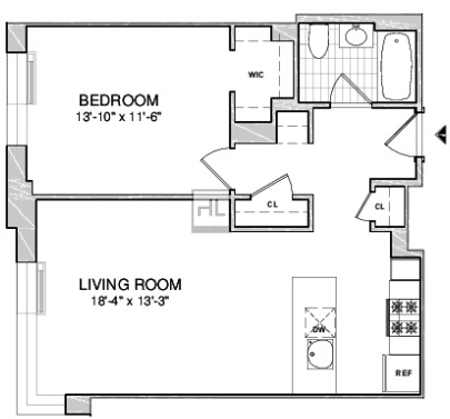 1 Bedroom, Boerum Hill Rental in NYC for $3,710 - Photo 1