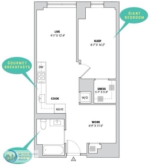 1 Bedroom, Alphabet City Rental in NYC for $4,650 - Photo 2