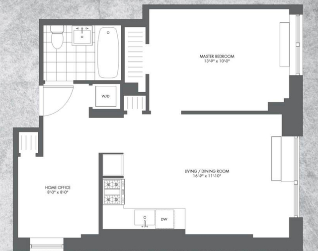 1 Bedroom, Chelsea Rental in NYC for $4,149 - Photo 2
