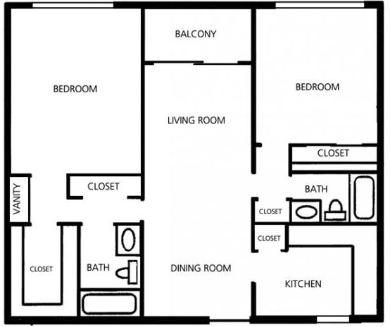 2 Bedrooms, Vista Gardens Rental in Miami, FL for $1,290 - Photo 2