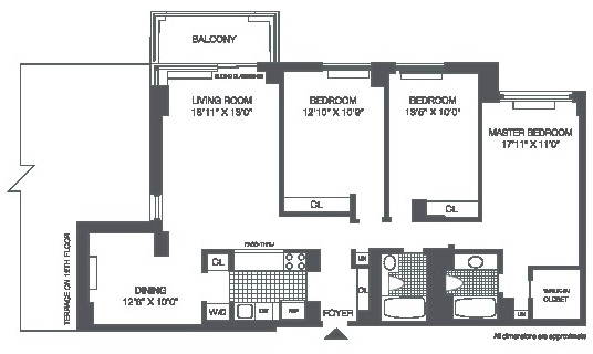 4 Bedrooms, Roosevelt Island Rental in NYC for $4,892 - Photo 2