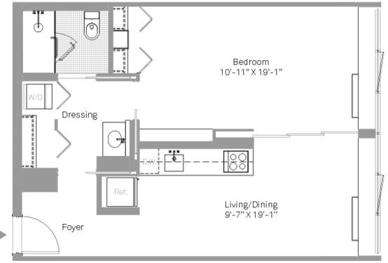 1 Bedroom, Stapleton Rental in NYC for $2,066 - Photo 2