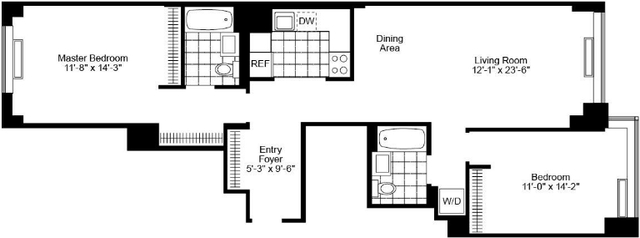 2 Bedrooms, Chelsea Rental in NYC for $7,350 - Photo 2