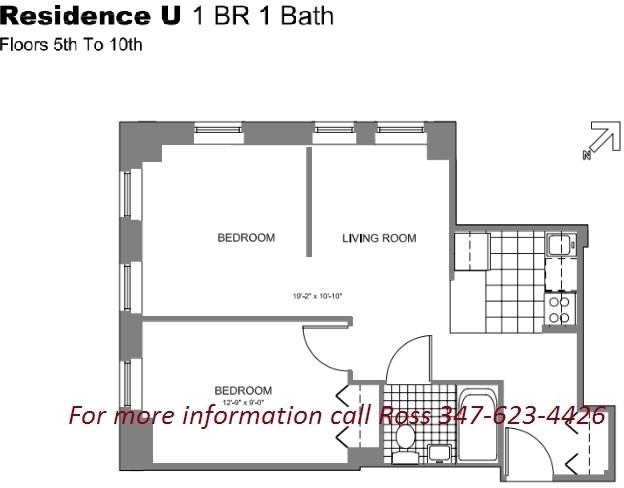 2 Bedrooms, Chelsea Rental in NYC for $3,525 - Photo 2