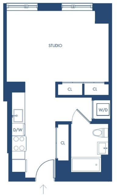 Studio, Long Island City Rental in NYC for $2,391 - Photo 2