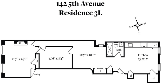 2 Bedrooms, North Slope Rental in NYC for $2,695 - Photo 2