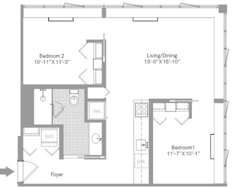 2 Bedrooms, Stapleton Rental in NYC for $2,950 - Photo 2