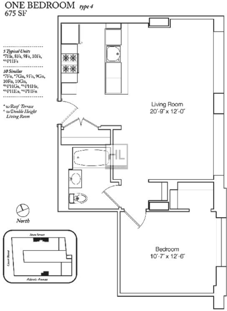 1 Bedroom, Boerum Hill Rental in NYC for $3,542 - Photo 1