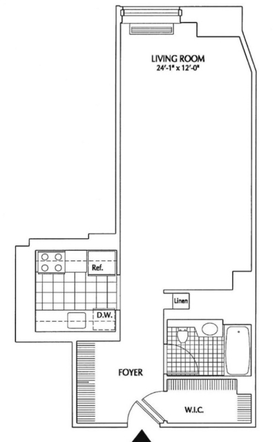 Studio, Financial District Rental in NYC for $3,040 - Photo 2