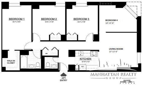 4 Bedrooms, Yorkville Rental in NYC for $5,000 - Photo 2