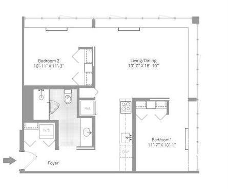 2 Bedrooms, Stapleton Rental in NYC for $2,525 - Photo 1