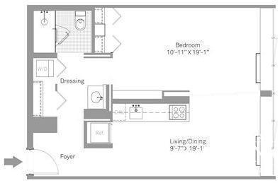 1 Bedroom, Stapleton Rental in NYC for $1,860 - Photo 2