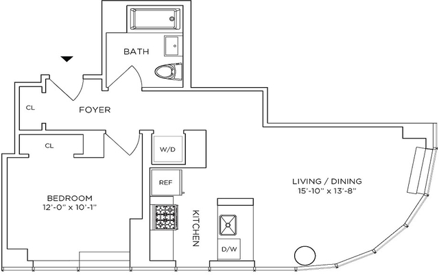 1 Bedroom, Downtown Brooklyn Rental in NYC for $3,900 - Photo 2