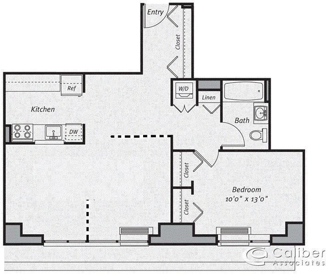 2 Bedrooms, Hunters Point Rental in NYC for $3,300 - Photo 2