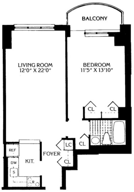 1 Bedroom, Lincoln Square Rental in NYC for $5,450 - Photo 2