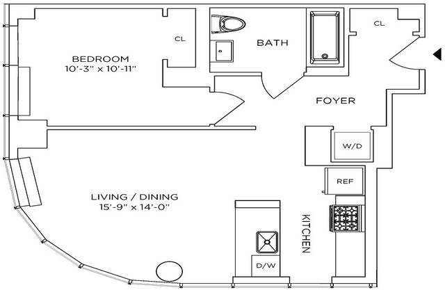 1 Bedroom, Downtown Brooklyn Rental in NYC for $4,090 - Photo 2
