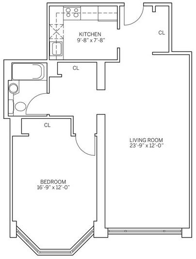 1 Bedroom, Newport Rental in NYC for $2,755 - Photo 2