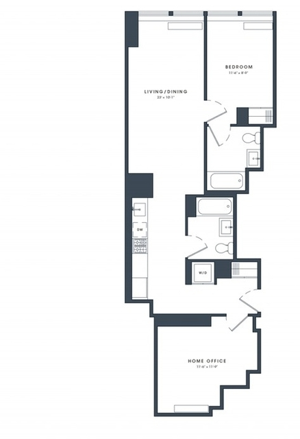 2 Bedrooms, Financial District Rental in NYC for $4,990 - Photo 2