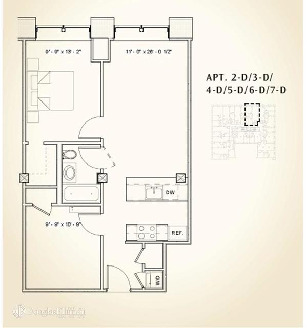 1 Bedroom, DUMBO Rental in NYC for $4,465 - Photo 2