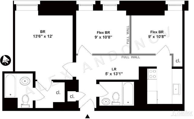 3 Bedrooms, Koreatown Rental in NYC for $4,430 - Photo 2