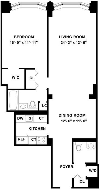 2 Bedrooms, Tribeca Rental in NYC for $4,487 - Photo 2