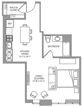 Studio, Historic Downtown Rental in NYC for $2,380 - Photo 2