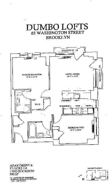 2 Bedrooms, DUMBO Rental in NYC for $4,995 - Photo 2