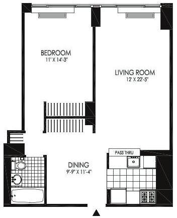 2 Bedrooms, Hunters Point Rental in NYC for $3,560 - Photo 2