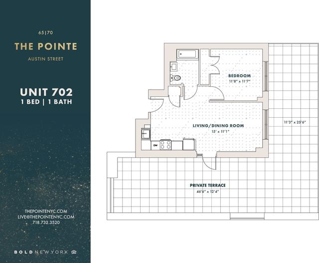 1 Bedroom, Rego Park Rental in NYC for $2,954 - Photo 2