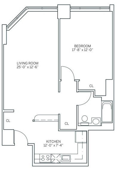 1 Bedroom, Newport Rental in NYC for $2,745 - Photo 2