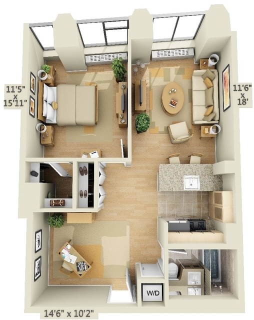 2 Bedrooms, Financial District Rental in NYC for $4,070 - Photo 2