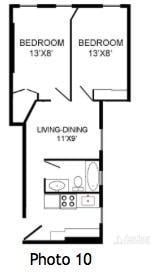2 Bedrooms, Turtle Bay Rental in NYC for $3,800 - Photo 2