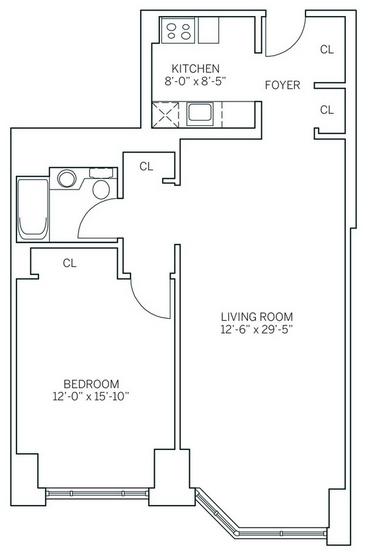 1 Bedroom, Newport Rental in NYC for $2,865 - Photo 2