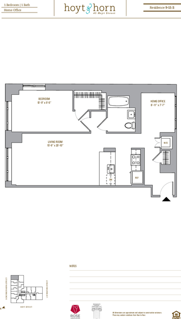 1 Bedroom, Downtown Brooklyn Rental in NYC for $3,373 - Photo 2