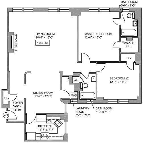 2 Bedrooms, Upper East Side Rental in NYC for $9,300 - Photo 2
