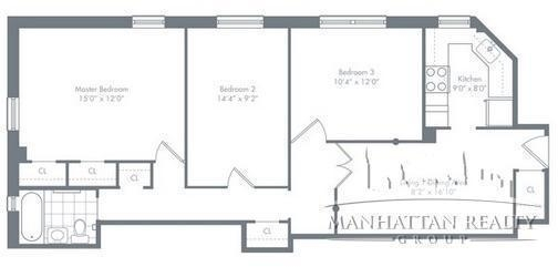 3 Bedrooms, Stuyvesant Town - Peter Cooper Village Rental in NYC for $4,100 - Photo 2