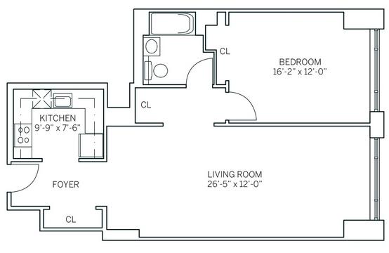 1 Bedroom, Newport Rental in NYC for $2,850 - Photo 2