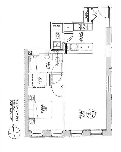 1 Bedroom, Cobble Hill Rental in NYC for $4,095 - Photo 2