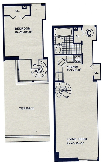 1 Bedroom, Rose Hill Rental in NYC for $4,175 - Photo 2