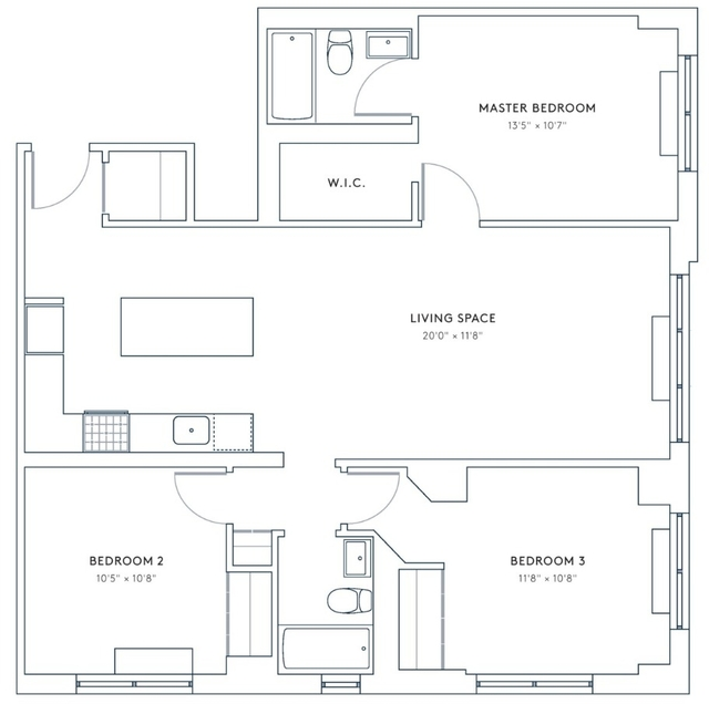 3 Bedrooms, Hell's Kitchen Rental in NYC for $6,476 - Photo 2