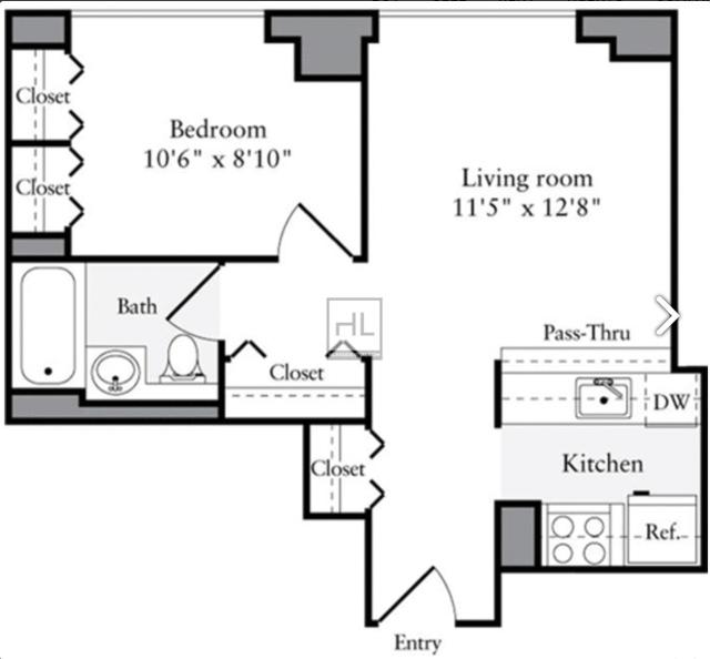 1 Bedroom, Brooklyn Heights Rental in NYC for $3,305 - Photo 1